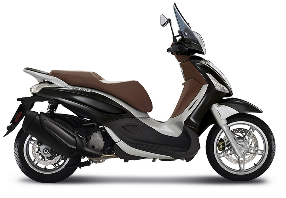 SellisBike - Piaggio Beverly 350 Sport Touring ABS Black Matte