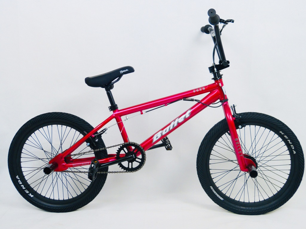 SellisBike - Bullet Bora Freestyle BMX Red